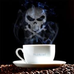 Bitte Herrschaften! Der Kaffee aus der Gruft ist serviert!