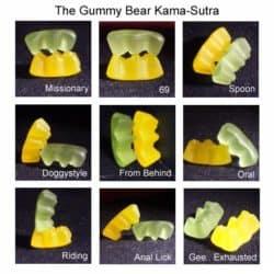 Gummibärchen kamasutra
