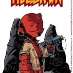 HellBrown: Hellboy und Peanuts Mashups
