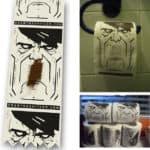 Draw The Shitler – Hitler Toilettenpapier: Mal den Schnauzbart!