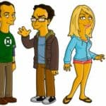 Le Big Bang Theory simpsonized