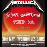 Sonisphere İsviçre 2012: Metallica ve Co Seasons.