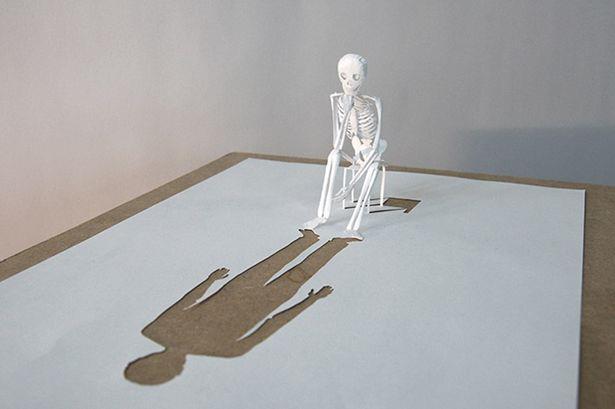 Die Papier-Skulpturen von Peter Callesen
