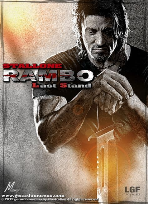 Rambo Last Stand Cartaz Draven Tales From The Crypt