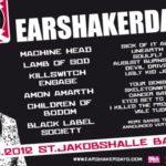 Earshakerday: Neuer orden de marcha