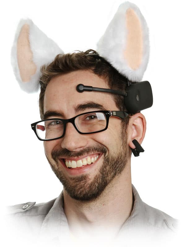 Necomimi Brainwave Cat Ears Dravens Tales From The Crypt