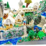 Lord of the Rings: Rivendell recreated out of Lego