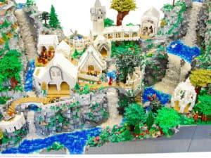 Herr der Ringe: Bruchtal aus Lego nachgebaut