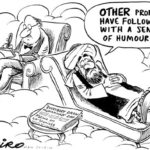 Prophet Mohammed auf der Couch: Why have my followers do not have sense of humor?
