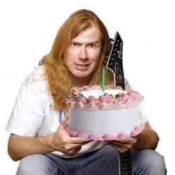 Happy Birthday Dave Mustaine