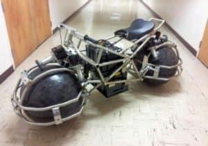 Batman lässt Grüssen: Studenten bauen omnidirektionales Motorrad
