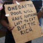 One Day the Poor…