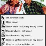 Social Media erklärt… com bacon…