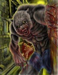 Vollmond, Finsternis und Monster