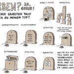 Welcher Grabstein passt zu dir?