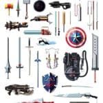 52 famous weapons of pop culture