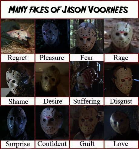 Many Faces Of Jason Voorhees Dravens Tales From The Crypt