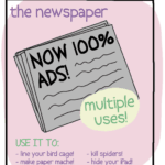 Ads for Outdated Products