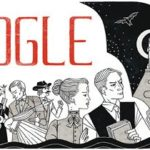 google doodle for birthday by bram stoker