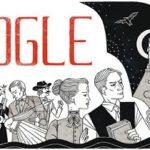 doodle pour l'anniversaire de google par Bram Stoker