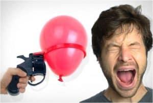 Russisches Luftballon Roulette