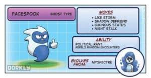 Pokemon Facespook