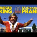 Burger King di Schabernack a McDonalds