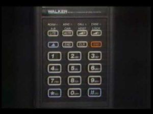Das Handy im Jahre 1986
