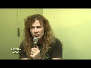 Interview med Dave Mustaine og Kerry King til hans udseende på Megadeth
