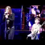 9-genio años tocando la guitarra con Ozzy Osbourne