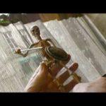 Retrato de Ray Harryhausen animação especialista em pistas de Arte