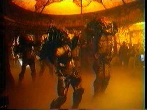 Predators dancing
