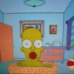 Homer Simpson's Leben in einer Minute