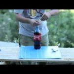 Coca Cola, Mentos und ein Kondom