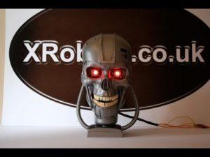 Terminator-Schädel selbst gebaut