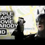 apple maps dark knight parody movie