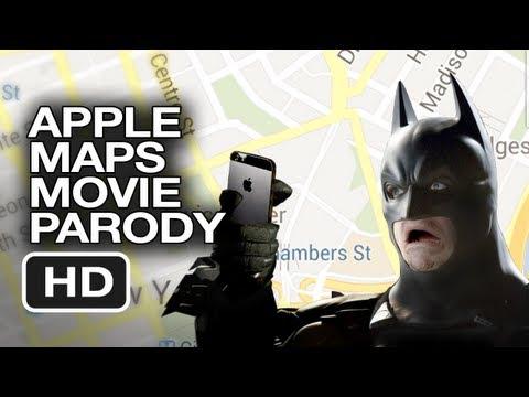 Apple Maps Dark Knight Parody Movie