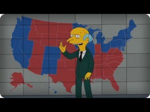 Simpsons: Mr. Burns befürwortet Romney