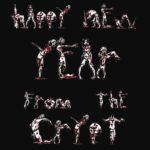 Gelukkig Nieuwjaar van de crypte