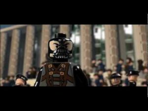 The Dark Knight Rises Trailer in Lego