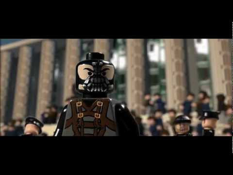 The Dark Knight Rises Trailer in Lego