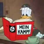 donald duck the Nazi