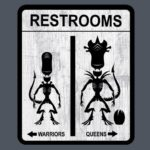 Toilettes Alien
