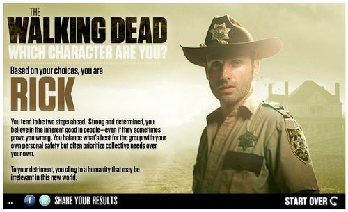 The Walking Dead - Welke Character Are You?