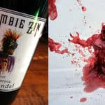If the wine is spilled Zombie