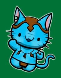 Avatar Kitty - Olá Kitty