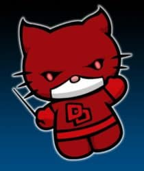 Daredevil gatito - Hello Kitty