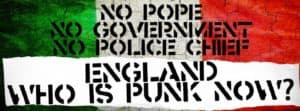 England, who is Punk now?