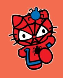 Hola Spidey - Hello Kitty