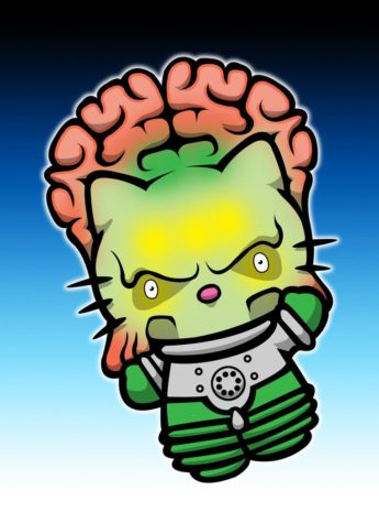 Mars Attacks Kitty - Bonjour Kitty